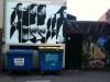 bins and graffiti